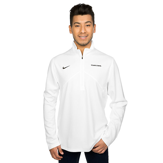 Texas State Bobcats Nike Dri-Fit Training Quarter Zip Pullover
