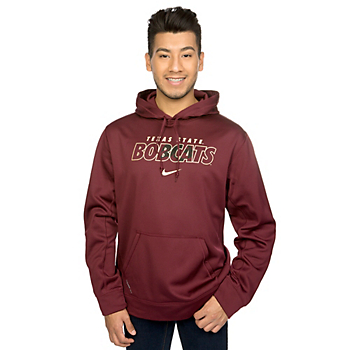Texas State Bobcats Nike Therma-Fit KO Hoody