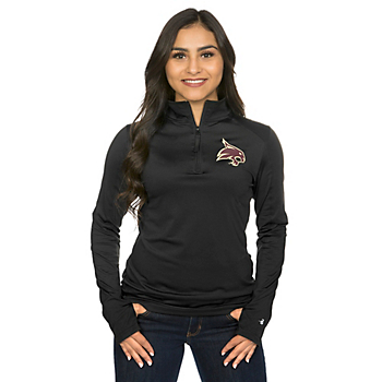 Texas State Bobcats Badger Ladies 1/4 Zip Jacket