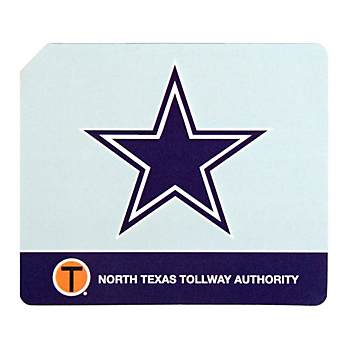 Dallas Cowboys NTTA Limited Edition TollTag