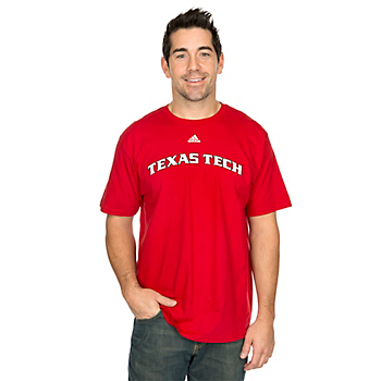 Texas Tech Red Raiders Adidas Team Front Tee