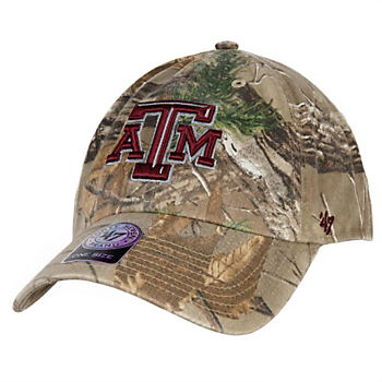 brand new c74f4 c39c3 Texas A M Aggies 47 Realtree Clean Up Cap