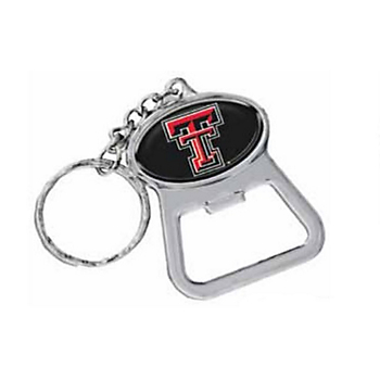 Texas Tech Red Raiders Bottle Opener Keychain