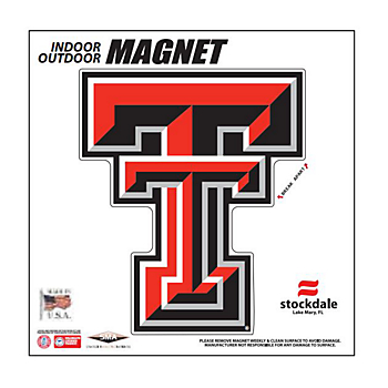 Texas Tech Red Raiders 6x6 Magnet