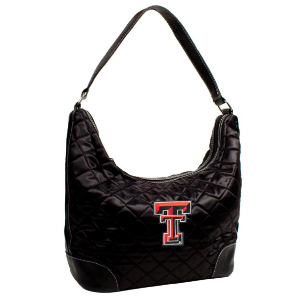 Texas Tech Red Raiders Quilted Hobo Bag