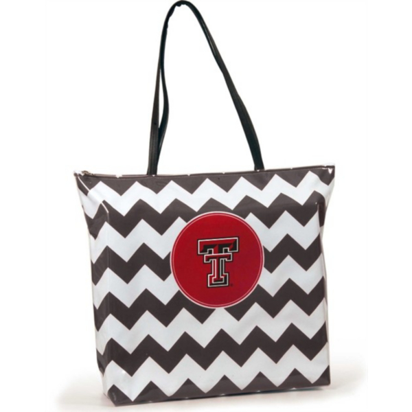 Texas Tech Red Raiders Chevron Shopper Tote