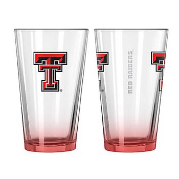 Texas Tech Red Raiders 16 oz Elite Pint