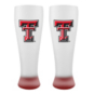 Texas Tech Red Raiders 23 oz Frosted Pilsner
