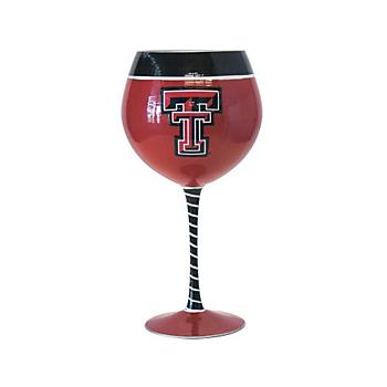 Texas Tech Red Raiders 33 oz Artisan Wine Glass
