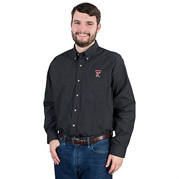 Texas Tech Red Raiders Antigua Esteem Button Down Shirt