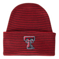 Texas Tech Red Raiders Striped Infant Knit Hat