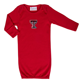 Texas Tech Red Raiders Layette Gown