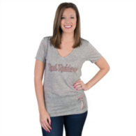 Texas Tech Red Raiders Summit Relaxed Linen V-Neck Tee