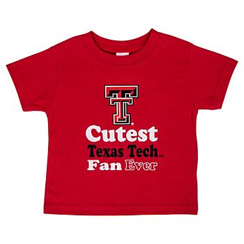 Texas Tech Red Raiders Toddler Short Sleeve Tee