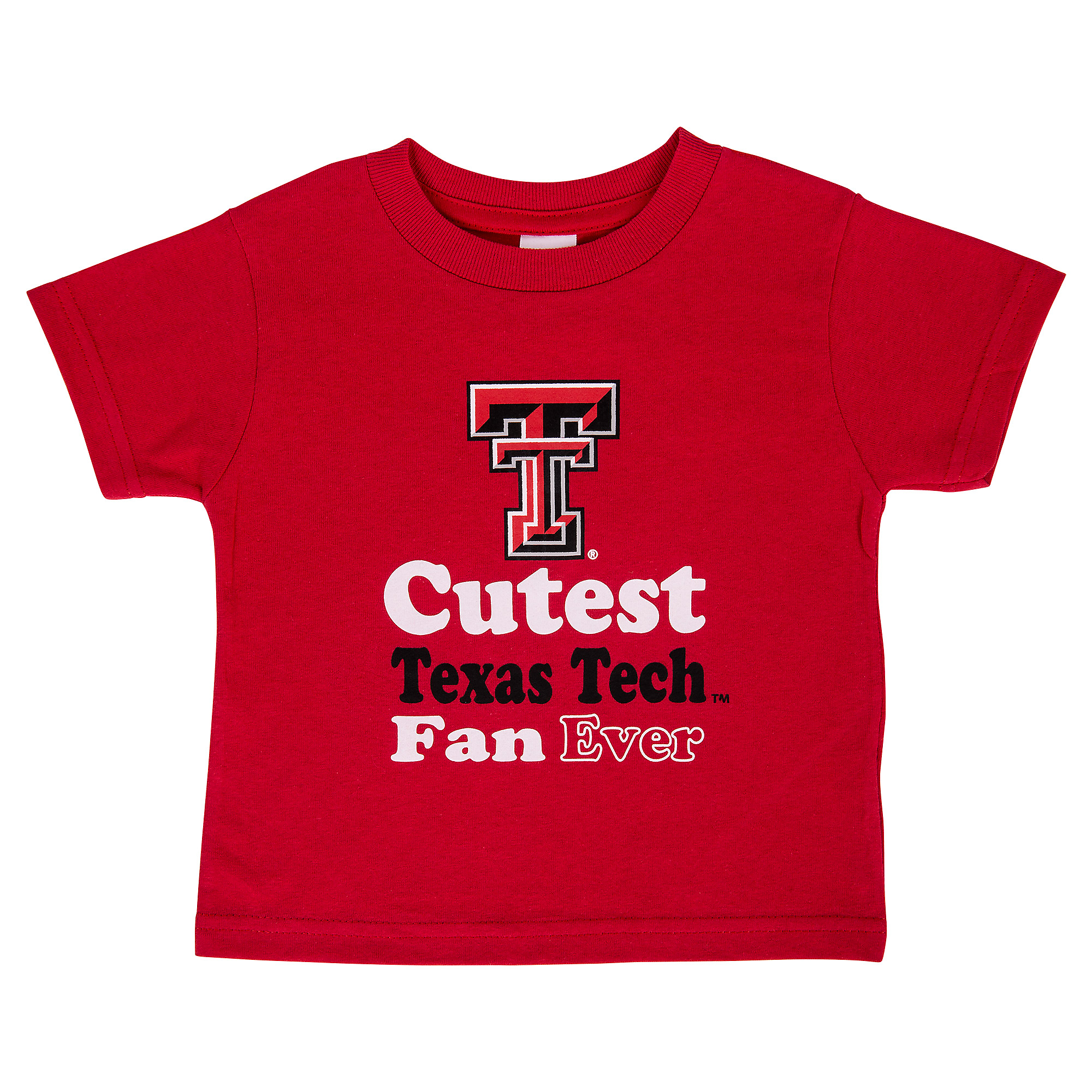 Texas Tech Red Raiders Toddler Short Sleeve Tee