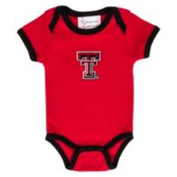 Texas Tech Red Raiders Infant Lap Shoulder Ringer Romper