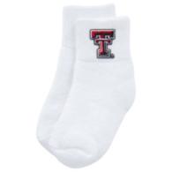 Texas Tech Red Raiders Baby Quarter Socks