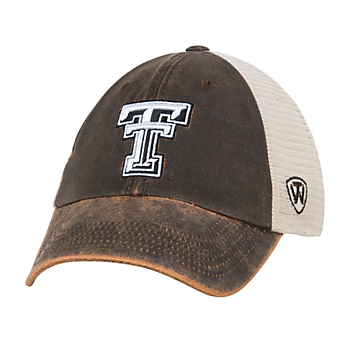 competitive price 0caea 06898 Texas Tech Red Raiders Top Of The World Scat Mesh Cap