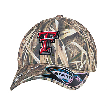 Texas Tech Red Raiders Top Of The World Blade Mossy Oak Cap