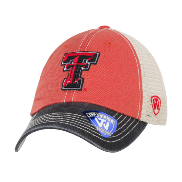 Texas Tech Red Raiders Top Of The World Offroad Cap
