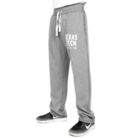 Texas Tech Red Raiders Blue 84 Sanded Fleece Open Pant