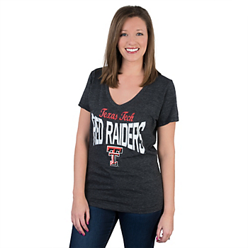 Texas Tech Red Raiders 5th & Ocean Relaxed V-Neck Tee