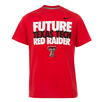 Texas Tech Red Raiders Nike Youth Cotton Tee