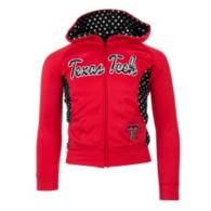 Texas Tech Red Raiders Girls Polka Poly Fleece Jacket