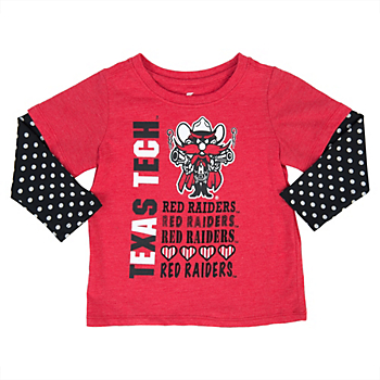 Texas Tech Red Raiders Colosseum Toddler Super Cool Layered Tee