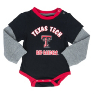 Texas Tech Red Raiders Colosseum Infant Thermal Onesie