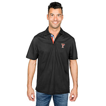 Texas Tech Red Raiders Levelwear Omaha State Flag Shadow Polo