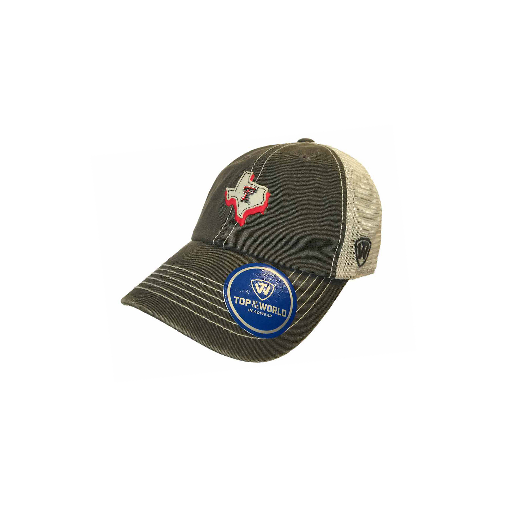 Texas Tech Red Raiders Top of the World United Hat   Fans United