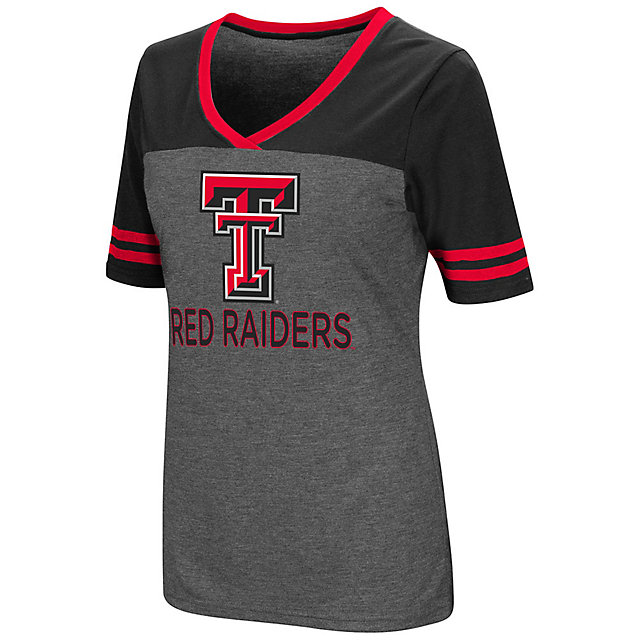 Texas Tech Red Raiders Colosseum Womens McTwist Jersey Tee