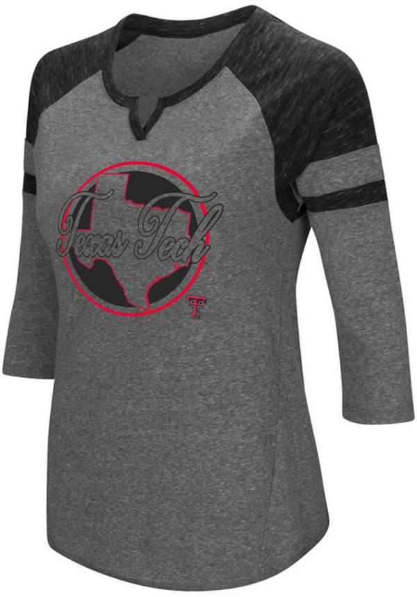 Texas Tech Red Raiders Colosseum Womens Par 3/4 Sleeve Tee