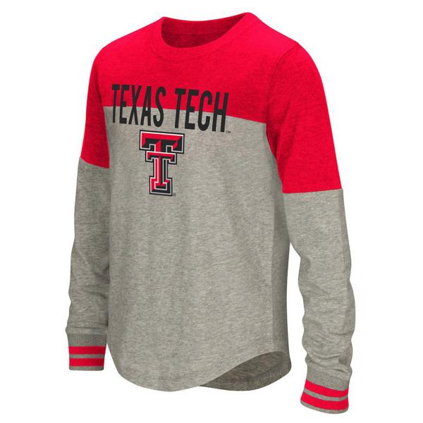 Texas Tech Red Raiders Colosseum Girls Baton Long Sleeve Tee