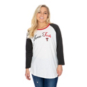 Texas Tech Red Raiders 47 Womens Gradient Script Raglan T-Shirt