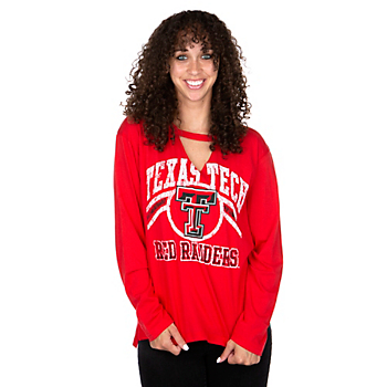 Texas Tech Red Raiders Royce Womens Scout T-Shirt
