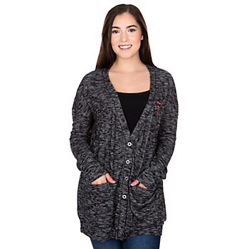 Texas Tech Red Raiders Colosseum Womens Had Me At Hello Cardigan
