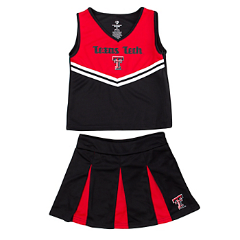 Texas Tech Red Raiders Girls Pom Pom Cheer Set