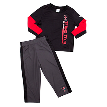 Texas Tech Red Raiders Colosseum Toddler We Got Us Set