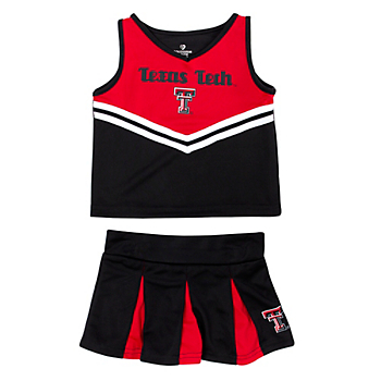 Texas Tech Red Raiders Toddler Pom Pom Cheer Set