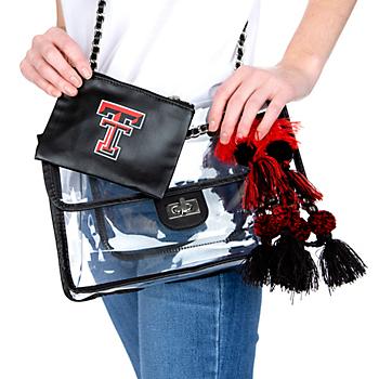Texas Tech Red Raiders Sheer Gear Evie Chain Bag