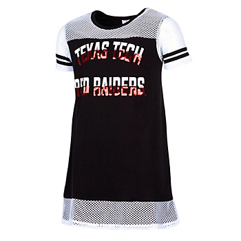 Texas Tech Red Raiders Colosseum Girls Don't Be Talkin' Mesh Dress