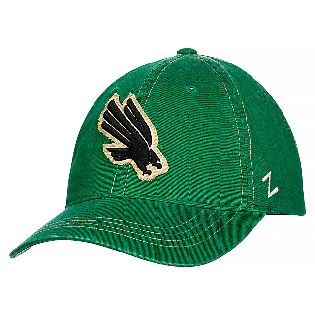 North Texas Mean Green Zephyr Quad Slouch Cap