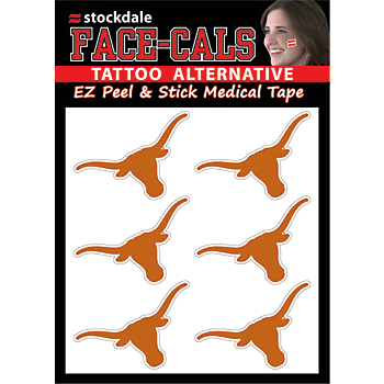 Texas Longhorns 4x5 Mini Decals