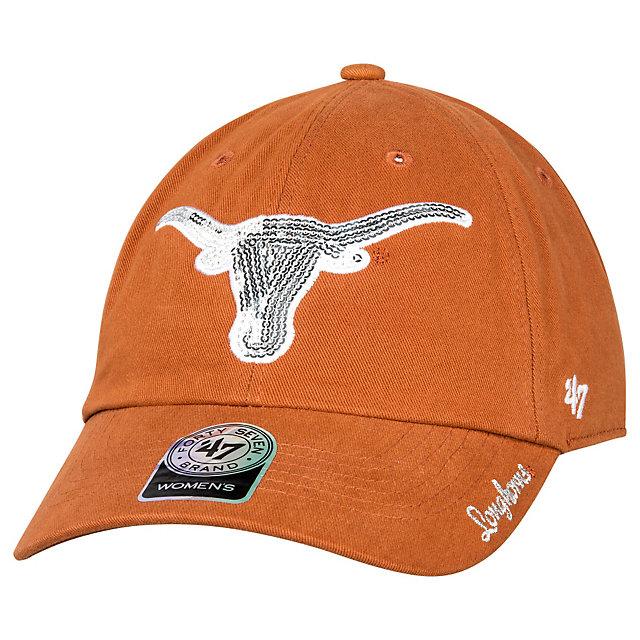 Texas Longhorns 47 Womens Sparkle Team Clean Up Cap