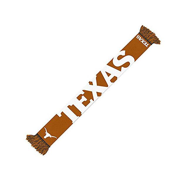 Texas Longhorns Wordmark Scarf