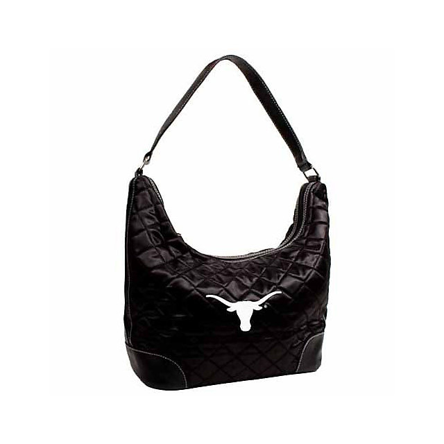 Texas Longhorns Quilted Hobo