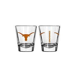 Texas Longhorns 2 oz Shot Glass