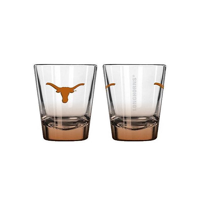 Texas Longhorns 2 oz Collectible Elite Shot Glass